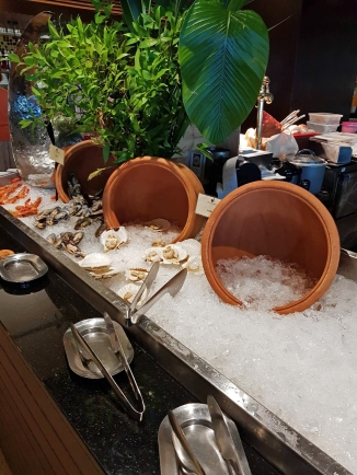 Seafood Station at 1.15pm
