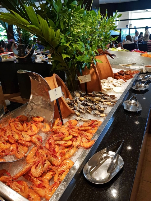 Seafood Station at 12.30pm