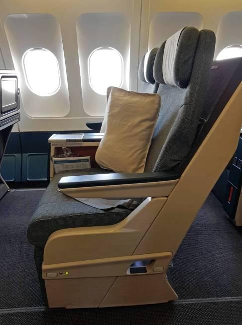seats close up